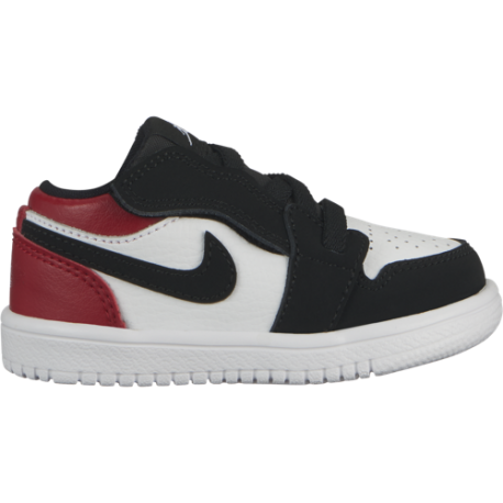 Nike Air Jordan 1 Low Alt TD Rosso Nero Bambino