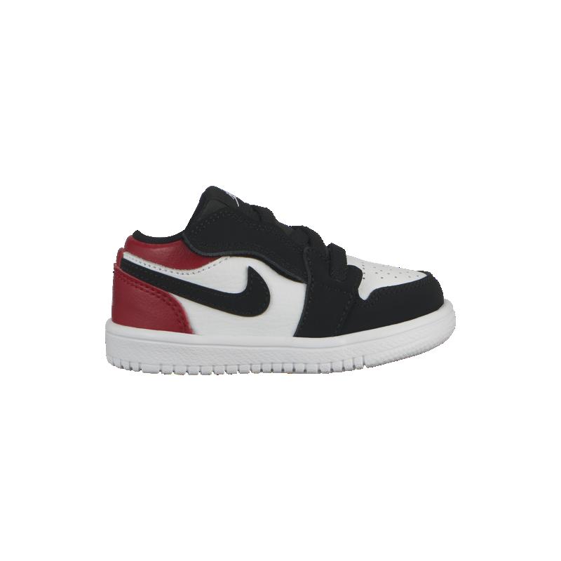 Nero Nike Air Jordan 1 Low Td Bambino Alt Rosso ED9YeWH2I