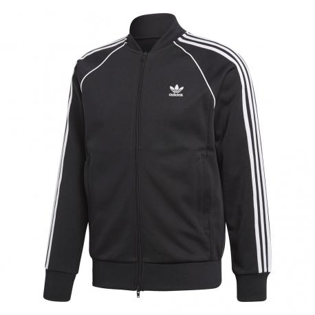 Adidas Originals Felpa Zip SST Nero Uomo