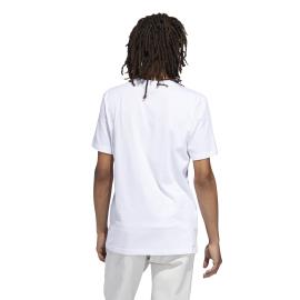 Adidas Originals T Shirt Solid BB Bianco Nero Uomo