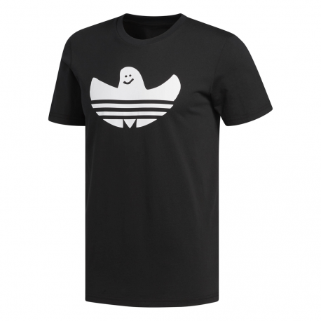 Adidas Originals T Shirt Solid Shmoo Nero Bianco Uomo
