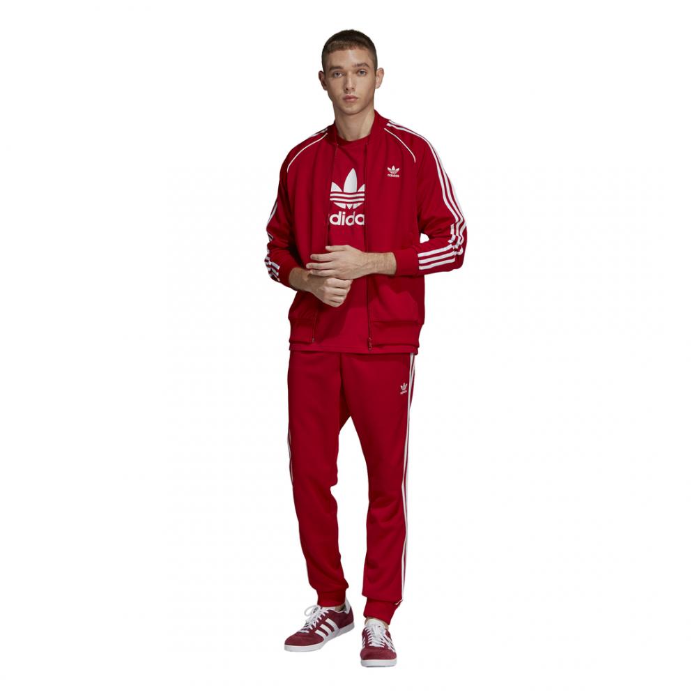 6362e307a5 ADIDAS originals felpa zip sst rosso uomo - Acquista online su Sportland
