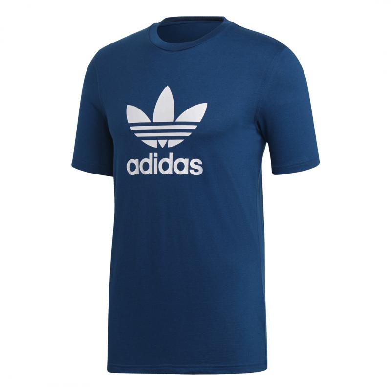 T Trefoil Uomo Acqui Sportshock Adidas Shirt Originals Blu Dv1603 mNnv80w