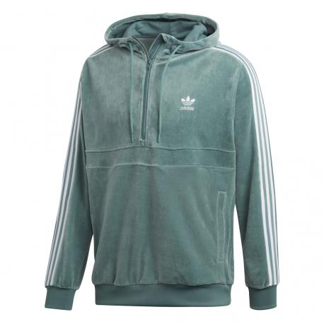 Adidas Originals Felpa Cozy Verde Acqua Uomo