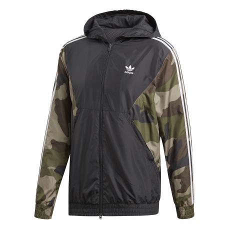 Adidas Originals Giacca A Vento Camouflage Uomo