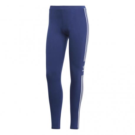 Adidas Original Leggings Trefoil Blu Scuro Donna