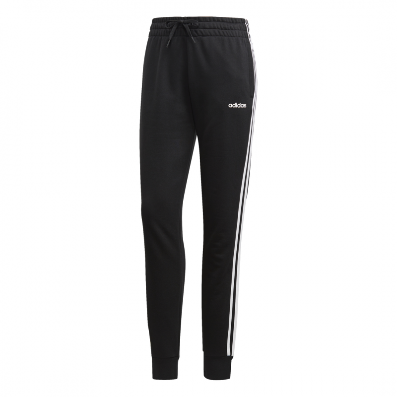 scarpe esclusive grandi affari 2017 prezzo di fabbrica ADIDAS pantalone 3 stripes nero bianco donna