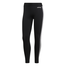 Adidas Leggings 3 Stripes Nero Bianco Donna