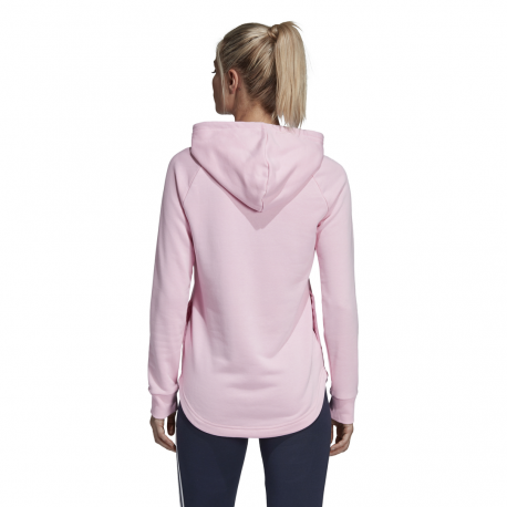 ... ADIDAS felpa must have badge of sport rosa donna 030adc2a7230