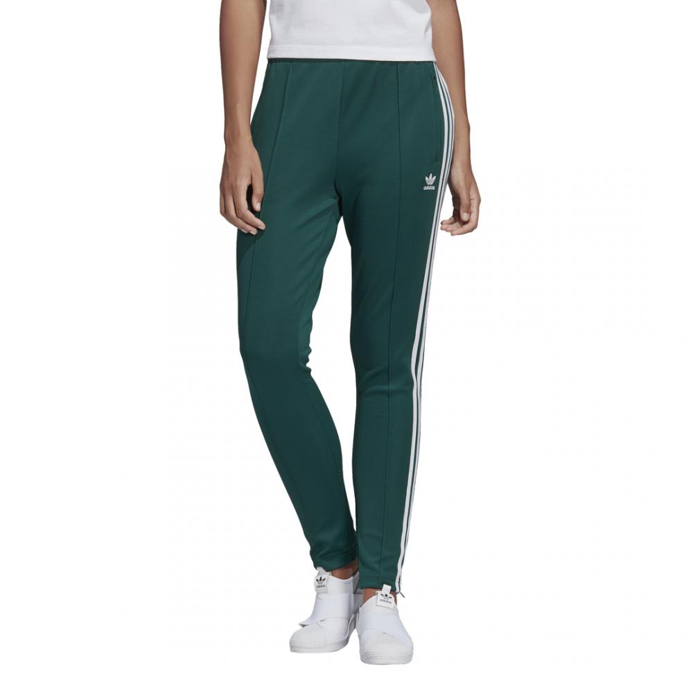 ADIDAS originals pantalone tuta sst verde donna dv2637 ...