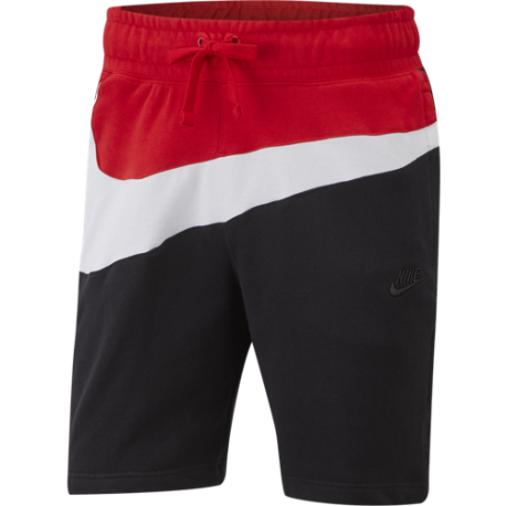 Nike Sportwear Short Nero Bianco Uomo