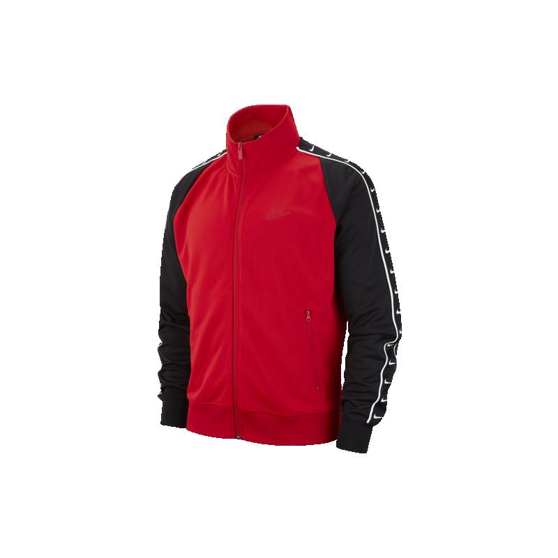 Nike Sportswear Giacca Con Zip Rosso Nero Uomo