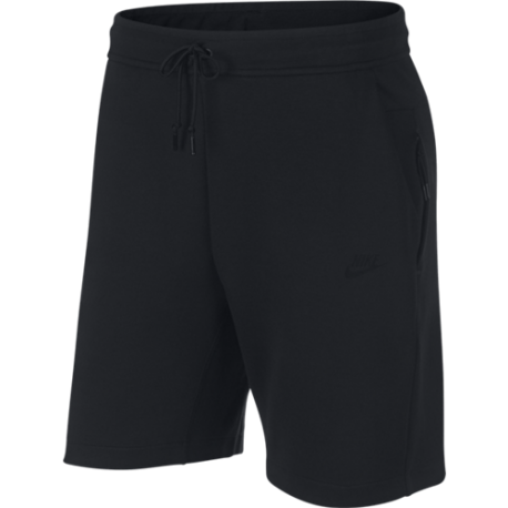 Nike Sportswear Short Fleece Nero Uomo