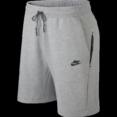 Nike Sportswear Short Fleece Grigio Uomo