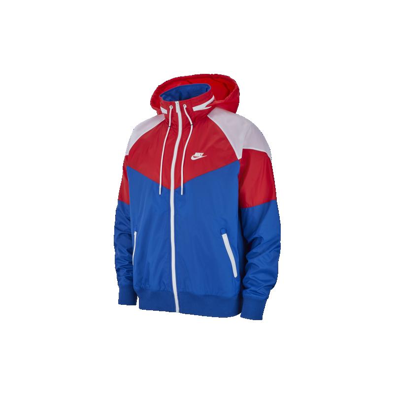 quality design 71b9e 7a7b5 Nike Sportswear Giacca A Vento Indaco Rosso Uomo