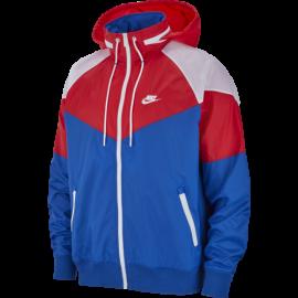 Nike Sportswear Giacca A Vento Indaco Rosso Uomo