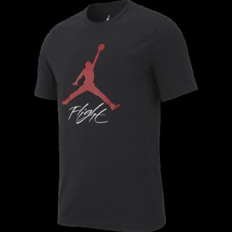 Nike T -Shirt Jordan Jumpman Flight Nero Uomo