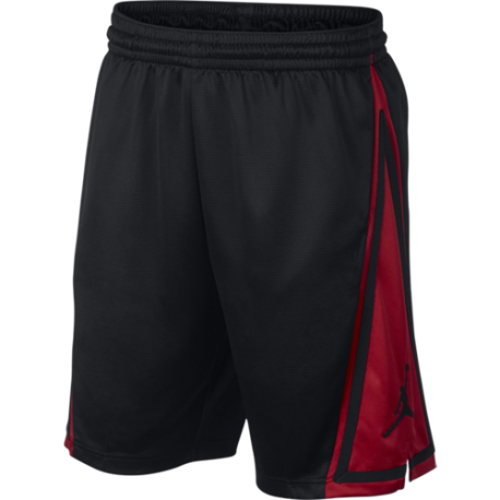 Nike Short Jordan Franchise Nero Rosso Uomo