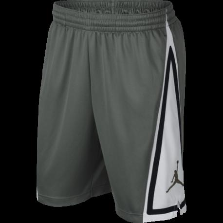 Nike Short Jordan Franchise Verde Bianco Uomo