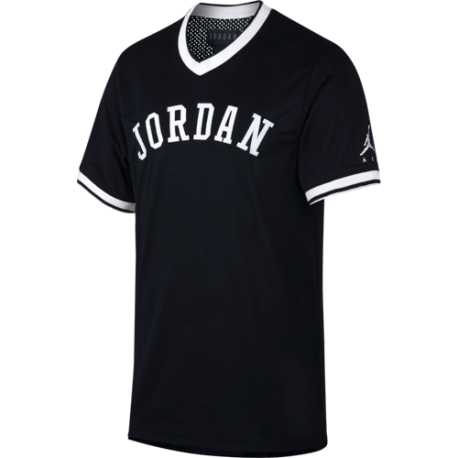 Nike T-Shirt Jordan Jumpman Air Mesh Nero Uomo