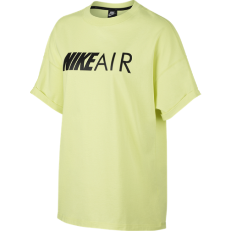 Nike T-Shirt Air Top Verde Donna