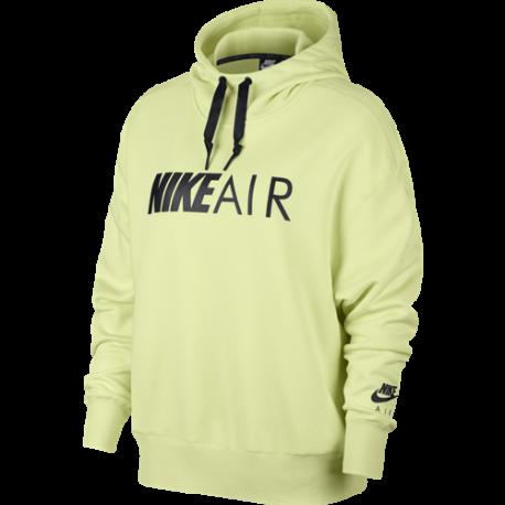 Nike Sportswear Air Felpa Con Cappuccio Verde Donna