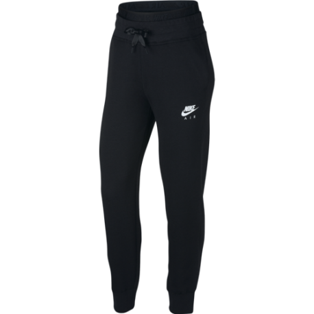 Nike Sportswear Air Pantalone Fleece Nero Donna