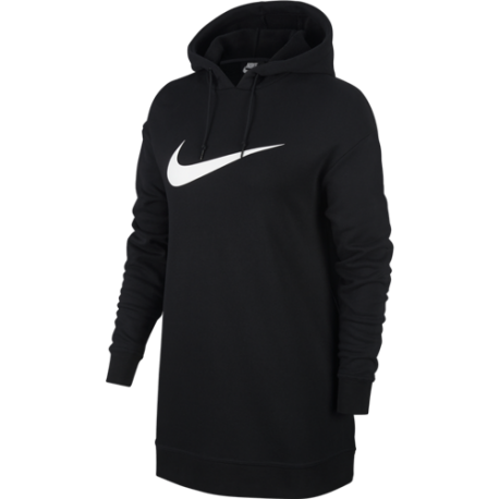 6b9746e6b839a5 Nike Sportswear Felpa Hoodie Oversize Nero Donna ...