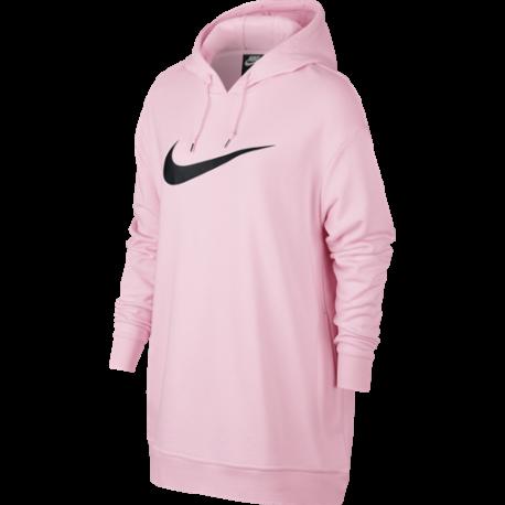 Nike Sportswear Felpa Hoodie Oversize Rosa Donna