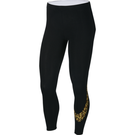 Nike Sportswear Leggings Animalier Nero Donna