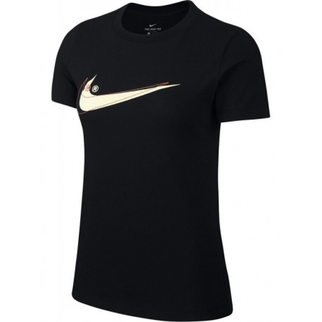 Nike Sportswear T-Shirt Swoosh Nero Donna