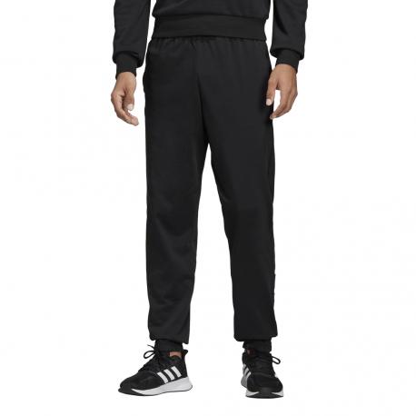 ADIDAS pantalone palestra essential linear nero bianco uomo