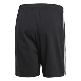 ADIDAS pantaloncino essentials chelsea 3 stripes nero bianco uomo