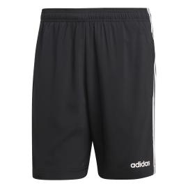 ADIDAS pantaloncino palestra 3 stripe nero uomo