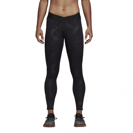 ADIDAS leggings sportivo 7/8 alphaskin sport nero donna