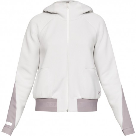 Under Armour Felpa Bianco Donna