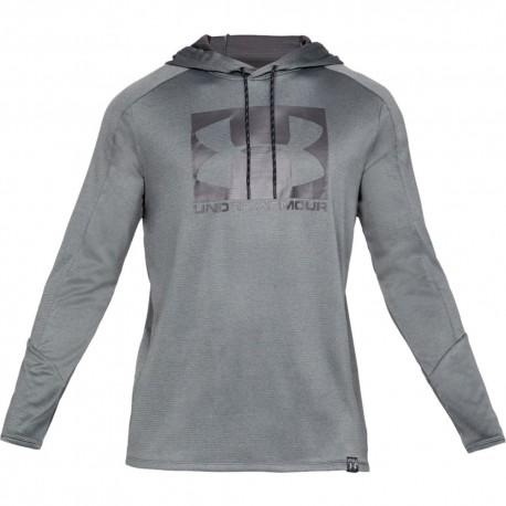 Under Armour Felpa Palestra Grey Uomo