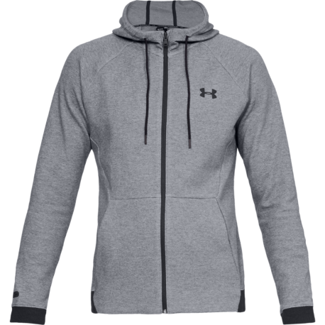 Under Armour Felpa Unstoppable Grigio Nero Donna