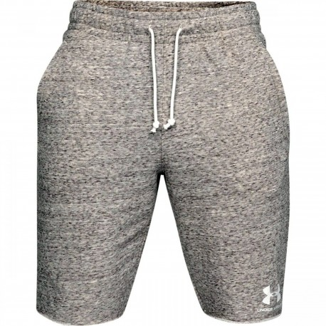 Under Armour Short Sportstyle Terry Bianco Uomo