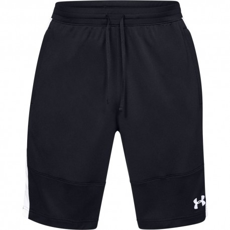 Under Armour Short Sportstyle Piquet Nero Uomo