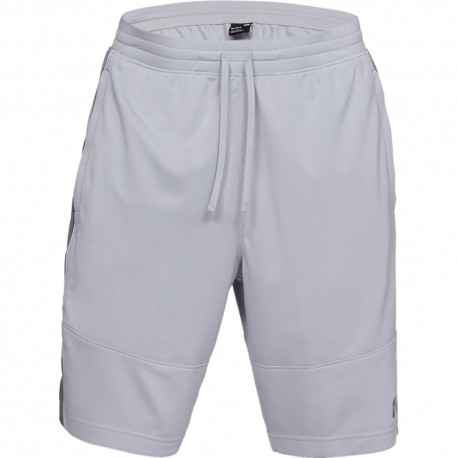 Under Armour Short Sportstyle Piquet Grigio Uomo