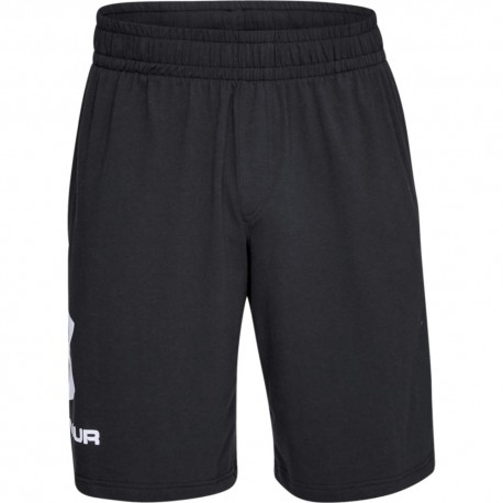 Under Armour Short Sportstyle Cotton Nero Uomo