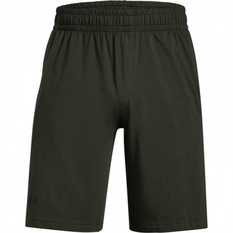 Under Armour Short Sportstyle Cotton Graphic Verde Uomo