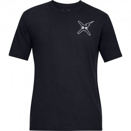 5af87297222506 Under Armour T-Shirt Wait For Nobody Nero Uomo ...