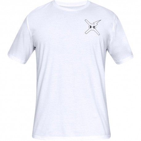 Under Armour T-Shirt Wait For Nobody Bianco Uomo