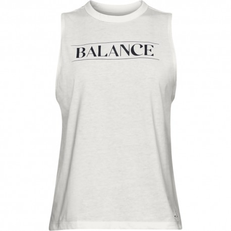 Under Armour Canotta Balance Graphic Bianco Donna