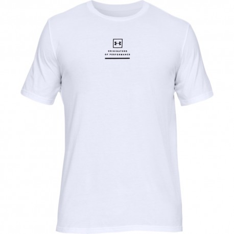 Under Armour T-Shirt Photoreal Bianco Uomo