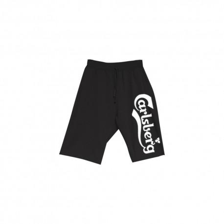 Carlsberg Short Nero Uomo