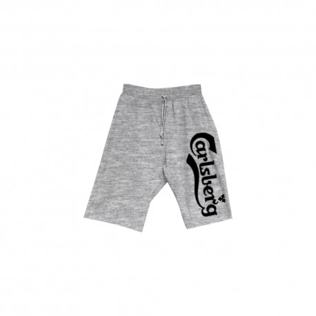 Carlsberg Short Grigio Uomo