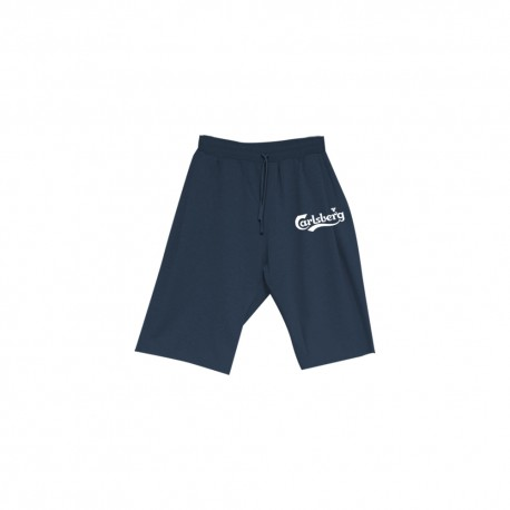 Carlsberg Short Elasticizzato Logo Blu Uomo